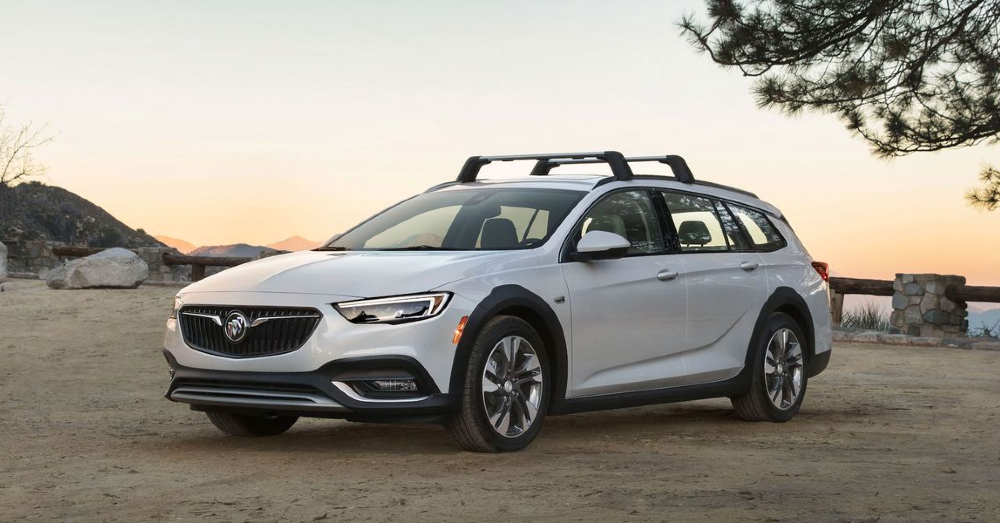 Adventure Driving in the Buick Regal TourX
