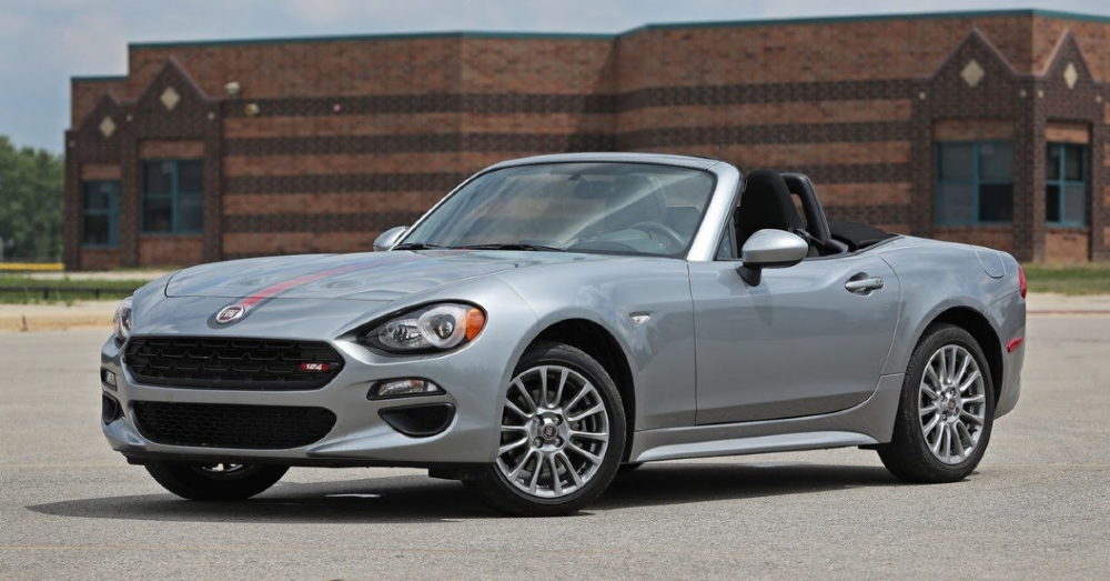 Find the Difference in the Fiat 124 Spider