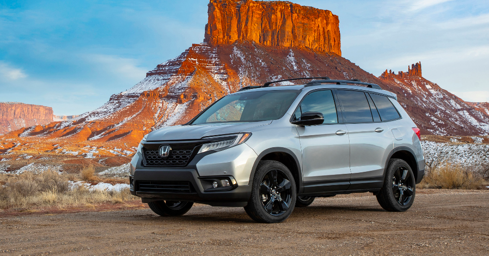 Let the Honda Passport Take You There