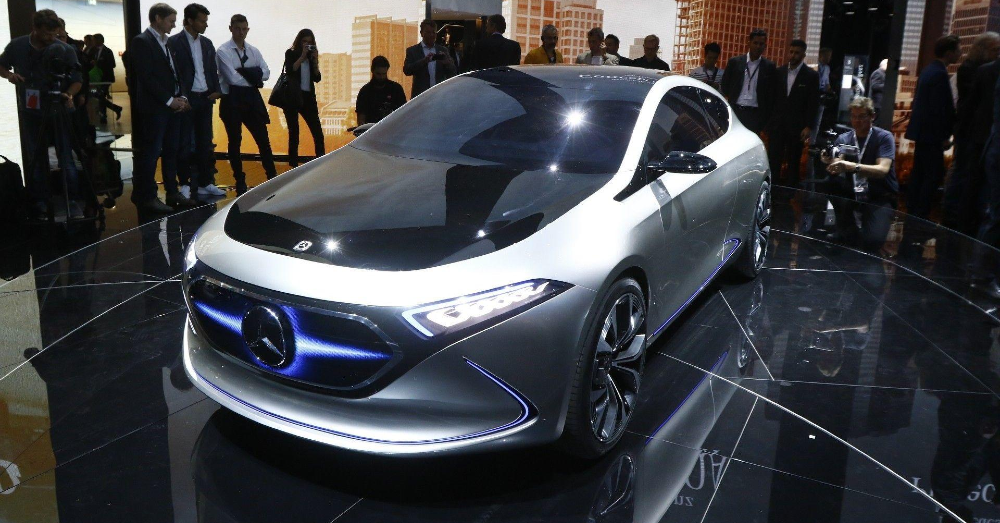 The Mercedes Concept EQ A is the More Stylish EV