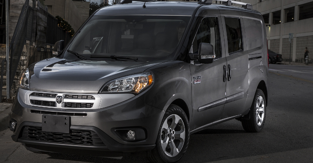 2018 Ram ProMaster City: Load it Up and Go
